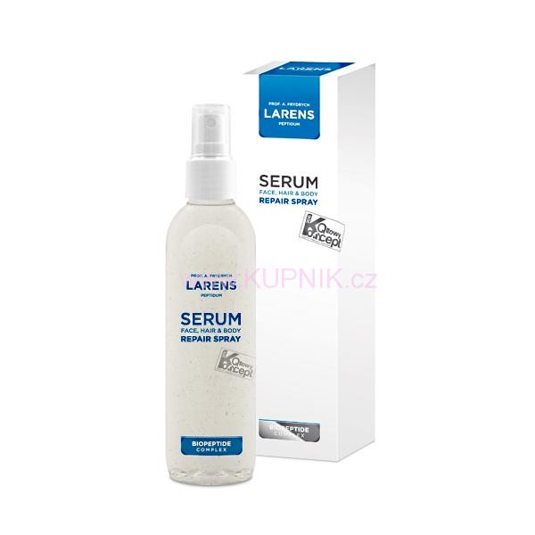 Regenerační peptidové sérum Larens Serum Face, Hair & Body Repair Spray 150 ml / 250 ml