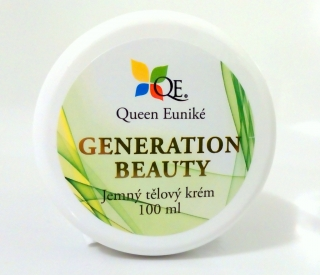 Queen Euniké Generation Beauty 100 ml - zpevňující krém s Q10