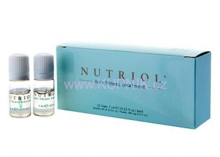 NuSkin Nutriol Hair Fitness Treatment 12 x 7 ml - séra na vlasy
