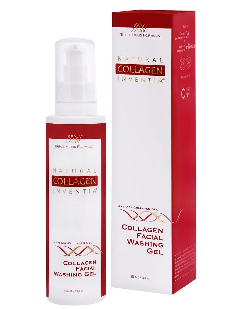 INVENTIA Kolagenový mycí gel na obličej 250 ml