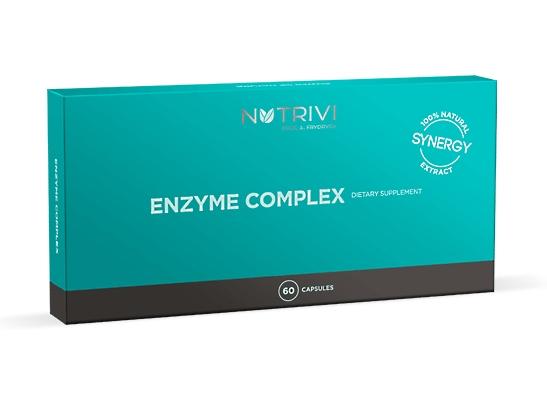Nutrivi Enzyme Complex 60 - proteolytické enzymy, podpora trávící soustavy (Bílkovinné trávic